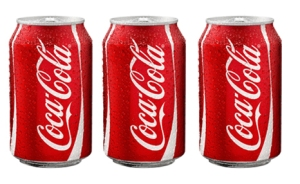 kaleng coca cola
