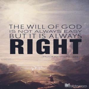 mengenal kehendak Tuhan